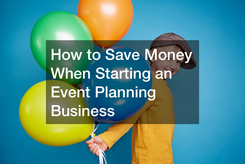 how to start up your own event planning business